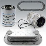 Resfriador e filtros de óleo