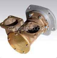 6V92 Turbo, pompe per acqua marina