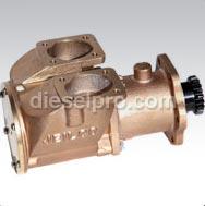 8V92 Turbo, pompe per acqua marina