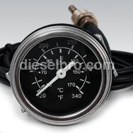 Temperatura do óleo