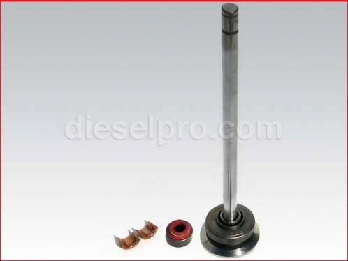 DP- 23507504 P Exhaust valve for Detroit Diesel engine series 60
