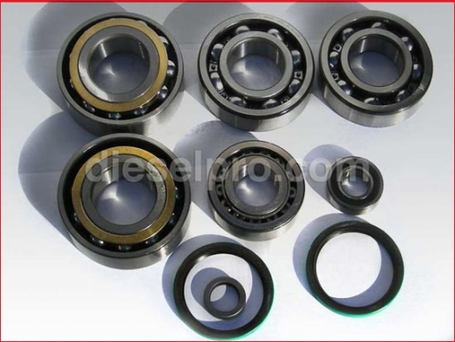 Complete bearing set for Allison marine MH