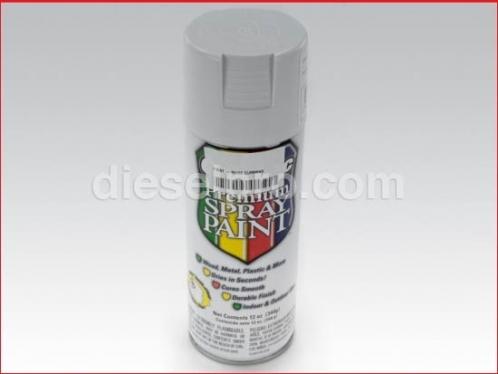 White paint for Detroit Diesel engine