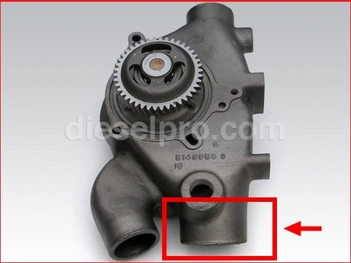 Detroit Diesel Water Pump for 12V71 - Truck and Industrial