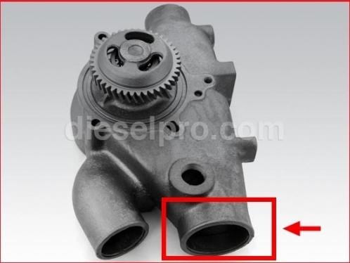 Water Pump for Detroit Diesel engine 12V71 - marine