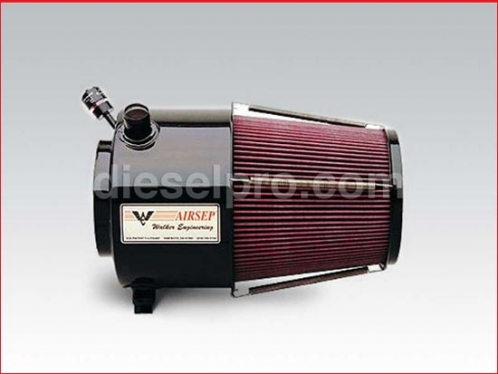 Airsep for Detroit Diesel 12V71 dual or twin turbo.