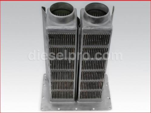 Heat exchanger for Detroit Diesel marine engine