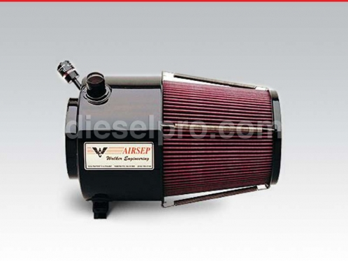 Airsep for Detroit Diesel 12V92 dual or twin turbo