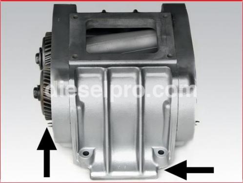 Detroit Diesel Blower for 3-71 Left hand - rebuilt