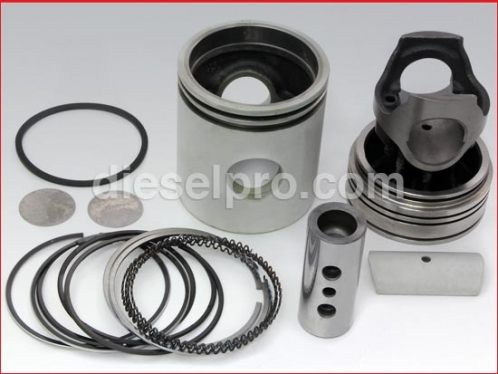 Liner less cylinder kit for Detroit Diesel engine