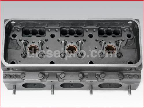 Detroit Diesel Cylinder head for 371, 6V71. Rebuilt