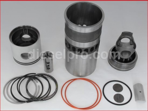 Cylinder kit for Detroit Diesel engine, 92 Series, Turbo