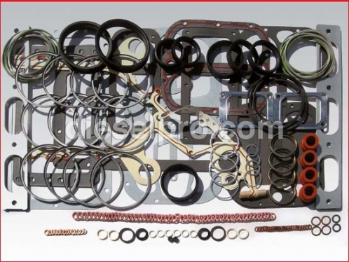 Overhaul gasket kit for Detroit Diesel engine 12V92