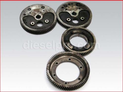 6-71 Detroit Diesel engine gear set - Used