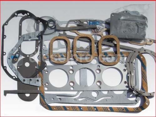 DP 5192921 Overhaul gasket kit, Detroit Diesel 3-71 low block