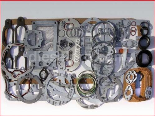 Overhaul gasket kit for Detroit Diesel engine 4-71