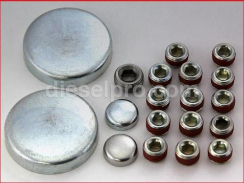 4-71 Head plug kit for Detroit Diesel engine 4-71