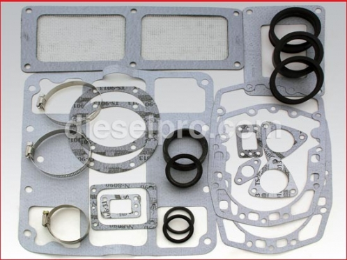 Blower installation gasket kit for Detroit Diesel 6-71