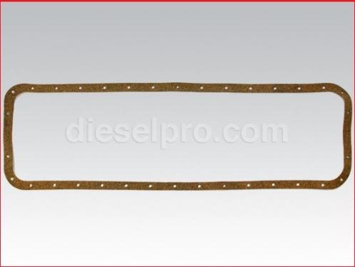 Oil pan gasket for Detroit Diesel engine 6-71