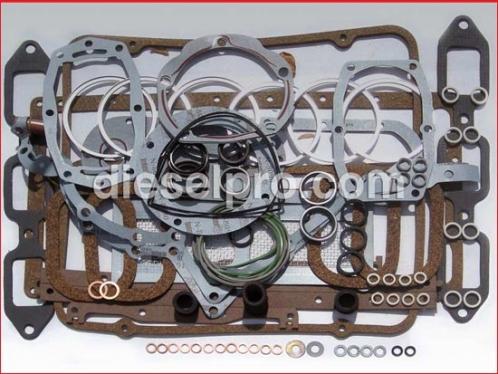 Overhaul gasket kit for Detroit Diesel engine 6V53
