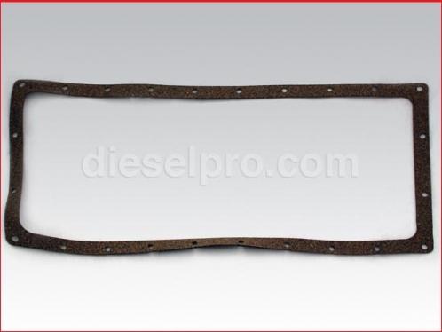 Oil pan gasket for Detroit Diesel engine 6V53