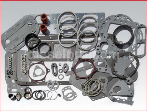 Overhaul gasket kit for Detroit Diesel engine 6V71