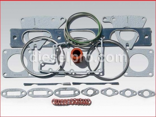 Head gasket for Detroit Diesel 6V92 and 12V92
