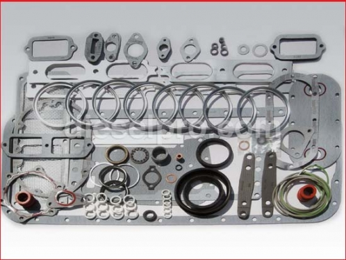 Overhaul gasket kit for Detroit Diesel engine 8V71