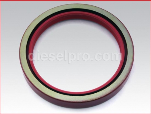 Rear crankshaft seal, standard - double lip