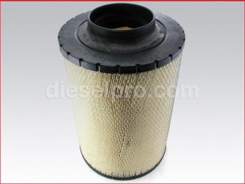 Air cleaner 5 x 16 inch inlet diameter for Detroit Diesel engine