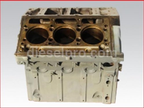 Detroit Diesel 6V71 engine block