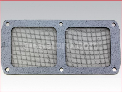 Blower gasket screen for Detroit Diesel engine