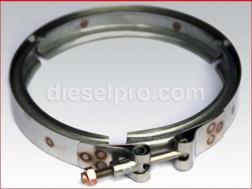 Turbo Clamp for Detroit Diesel engine - 4 inch diameter
