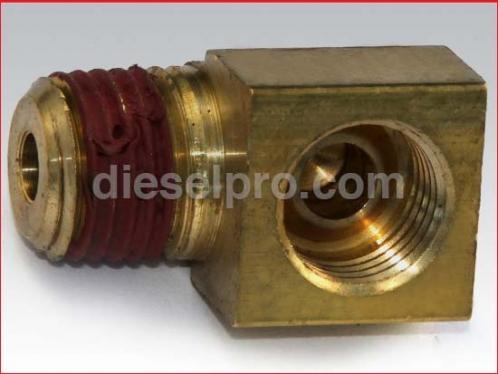 Return connector for Detroit Diesel engine