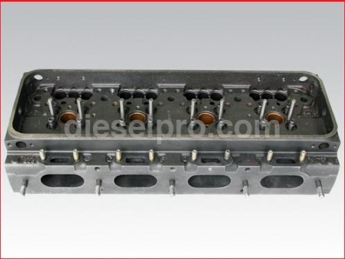 4-71, 16V71 Detroit Diesel head, Rebuilt - Bare