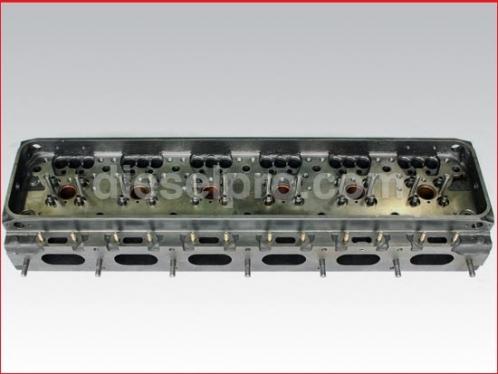12V71 Detroit Diesel cylinder head, bare - Rebuilt