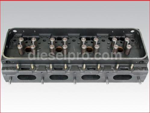 Cylinder head for Detroit 8V92, 16V92, valves, springs - Rebuilt