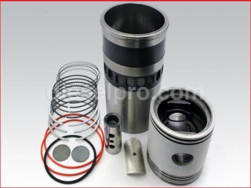 Cylinder kit for Detroit Diesel engine turbo INTERCOOL