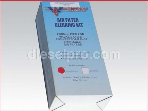 Airsep filter cleaning kit for Detroit Diesel engines