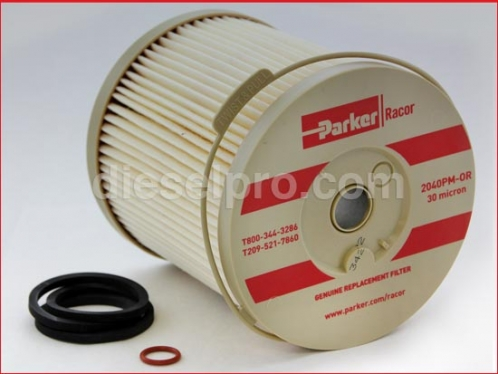 DP- 2040 RED Racor fuel and water separator filter unit