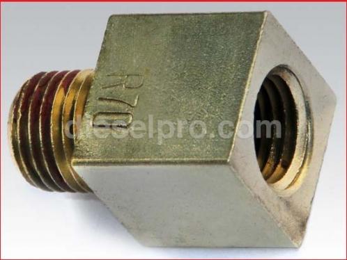 Restriction fitting for Detroit Diesel engine R70 - 70 pounds