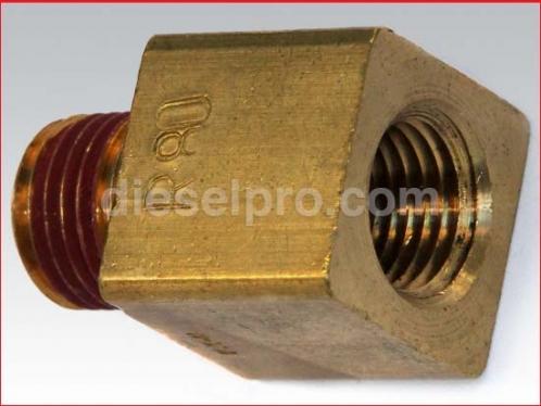 Restriction fitting for Detroit Diesel engine R80 - 80 pounds