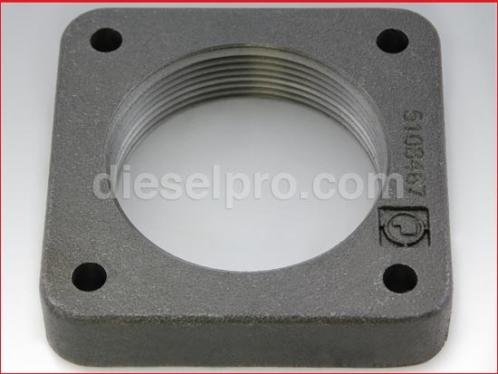 Flange 3 inch for Detroit Diesel industrial exhaust manifold