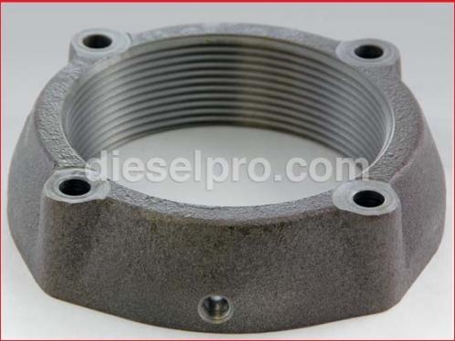 Marine exhaust manifold flange for Detroit Diesel engine