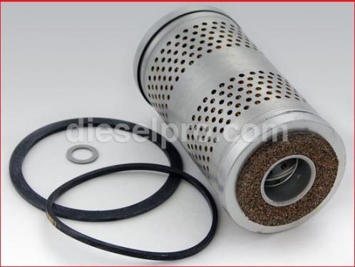 Primary fuel filter for Detroit Diesel engine.