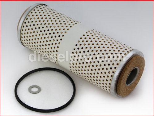 Fuel filter for Detroit Diesel engine - Secondary.