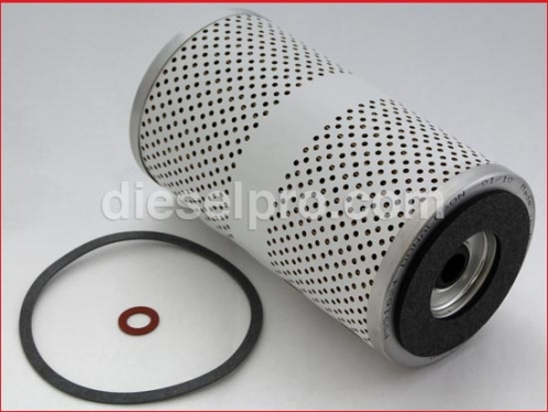Secondary fuel filter for Detroit Diesel engine