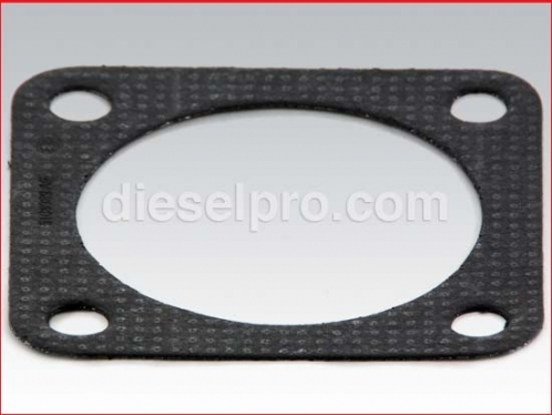 Gasket for manifold flange for Detroit Diesel engine - 4 inch