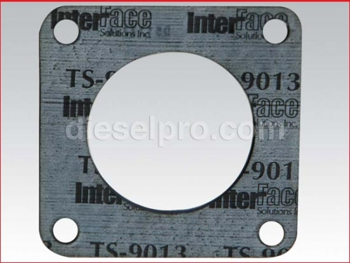 Gasket for thermostat housing cover for Detroit Diesel engine