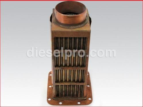Heat exchanger core for Detroit Diesel marine engine